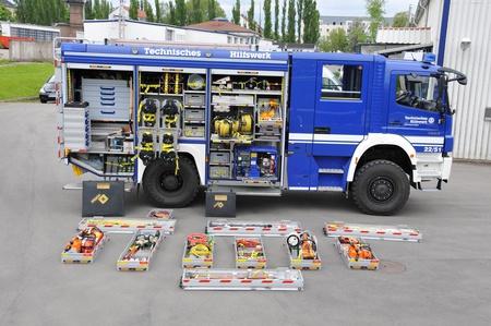 Der Gerätekraftwagen (GKW) mit Ausstattung